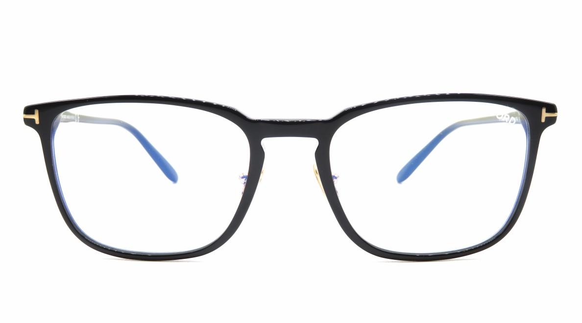 トムフォード FT5699B BLUE BLOCK FILTER-001-55 [黒縁/鯖江産/ウェリントン]