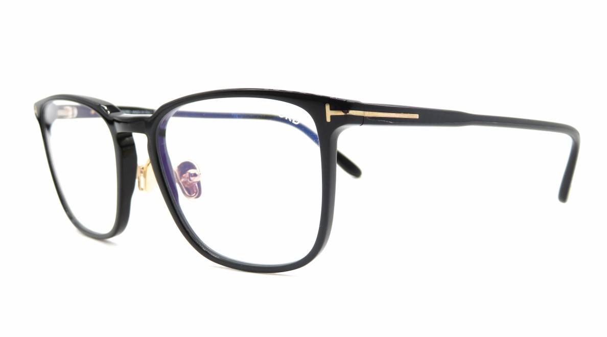 トムフォード FT5699B BLUE BLOCK FILTER-001-55 [黒縁/鯖江産/ウェリントン]  1