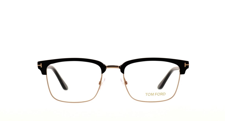トムフォード FT5504-001-52 [黒縁/ウェリントン]