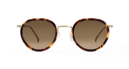 TYPE Bodoni Regular-Tortoise Sunglasses