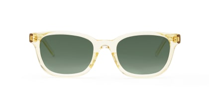 TYPE Univers Bold-Clear Sunglasses