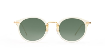TYPE Caslon Bold-Clear Sunglasses