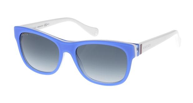 【送料無料】グッチ GG5009/C/S-8EZ VIOLET WHITE サングラス ウェリントン gucci-gg5009-c-s-8ez-violet-white ブルー 青 セルフレーム フルリム GUCCI サングラス:UVカット 即日発送 ユニセックス