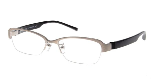【送料無料】プラスオーエムジー ビジネス ショーン omg-038-1-53 メガネ(眼鏡) スクエア plus-omg-business-omg-038-1-53 シルバー 銀 セルフレーム ハーフリム +omg Business 度付き 伊達メガネ 即日発送 メンズ