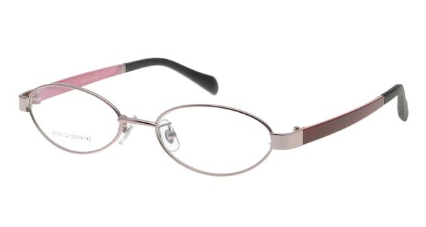 【送料無料】家メガネレンズセット JP-023-2 メガネ(眼鏡) オーバル ie-megane-lensset-jp-023-2 ピンク 桃 セルフレーム フルリム ie-megane-lensset 度付き 伊達メガネ 即日発送 レディース
