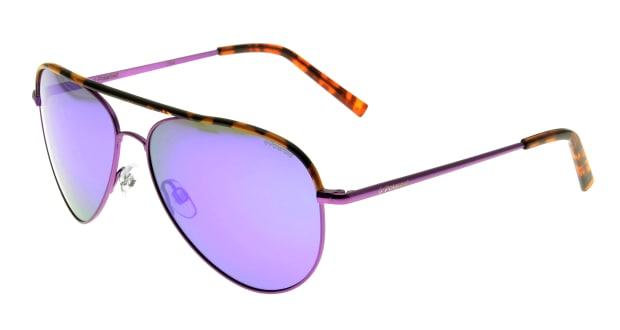 【送料無料】ポラロイド PLD6011S-PKT-MF サングラス ティアドロップ polaroid-pld6011s-pkt-mf パープル 紫 メタルフレーム フルリム polaroid サングラス:UVカット 即日発送 メンズ