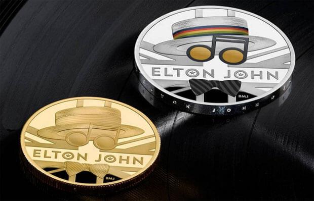 В Британии выпустили монету в честь Элтона Джона - Новости радио OnAir.ru
