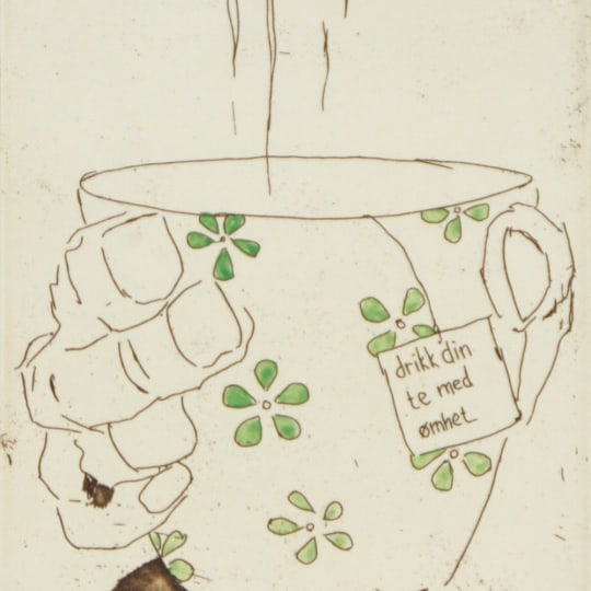 Drikk din te med ømhet by Anja Cecilie Solvik | onArts