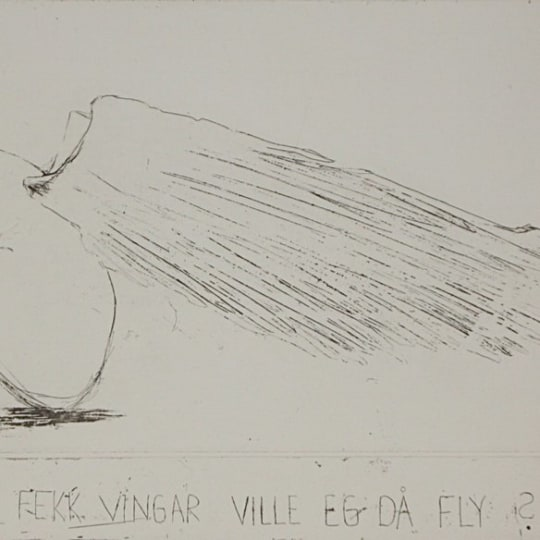 Om eg fekk vingar... by Anja Cecilie Solvik | onArts