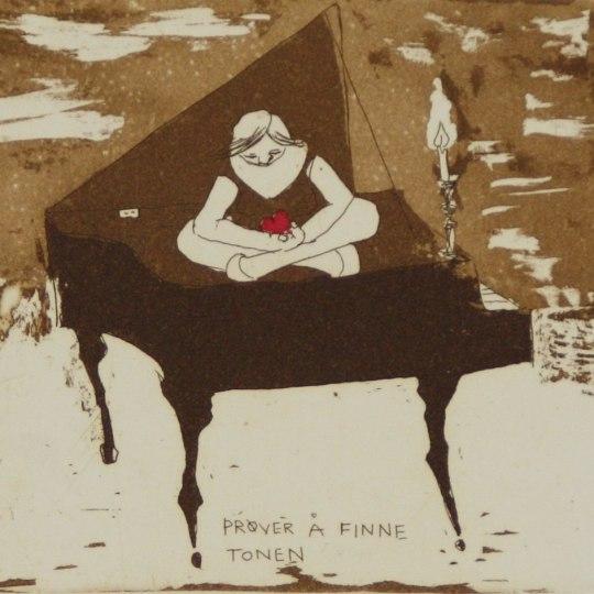 Prøver å finne tonen by Anja Cecilie Solvik | onArts