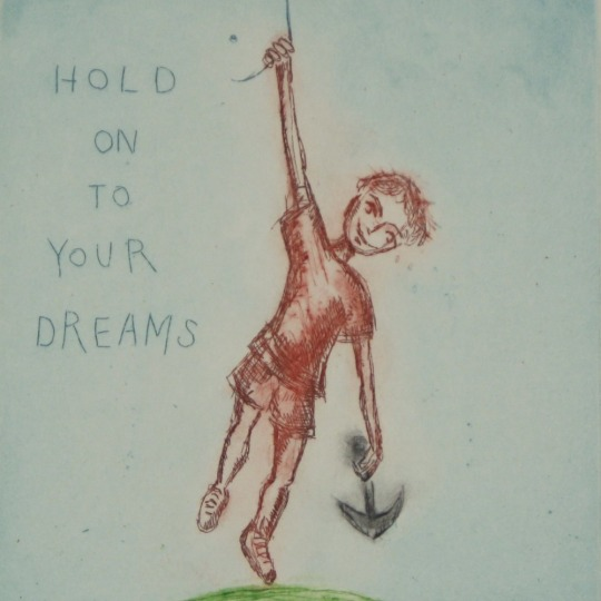 Hold on to your dreams by Bjørg Thorhallsdottir | onArts