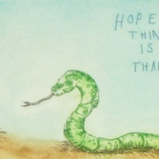Hope is the only thing... by Bjørg Thorhallsdottir | onArts