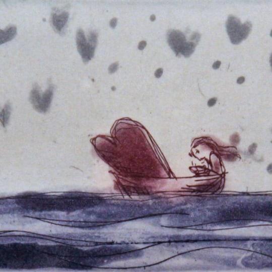 Kjærlighetens ballast... by Bjørg Thorhallsdottir | onArts