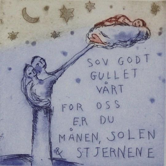 Sov godt gullet vårt... by Bjørg Thorhallsdottir | onArts