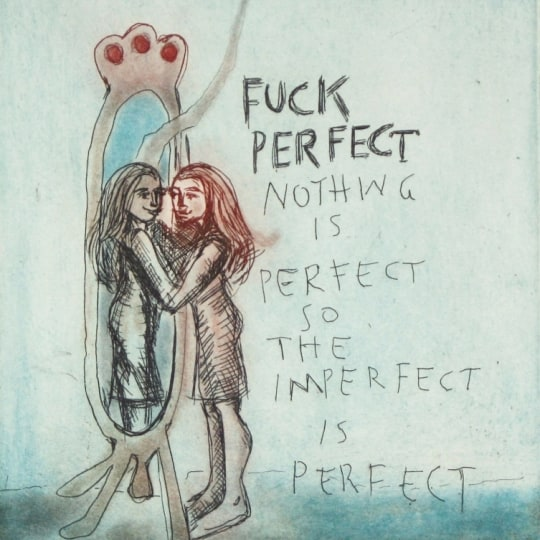 Fuck perfect by Bjørg Thorhallsdottir | onArts