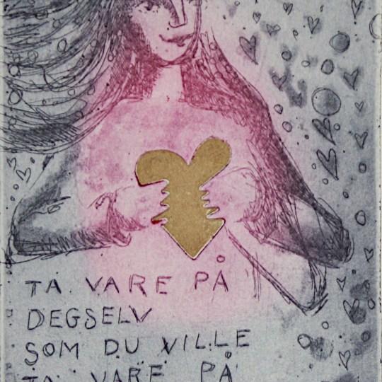 Ta vare på deg selv som du ville ta vare på din datter by Bjørg Thorhallsdottir | onArts