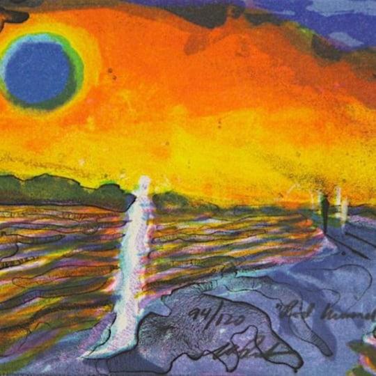 Rød himmel by Elling Reitan   onArts