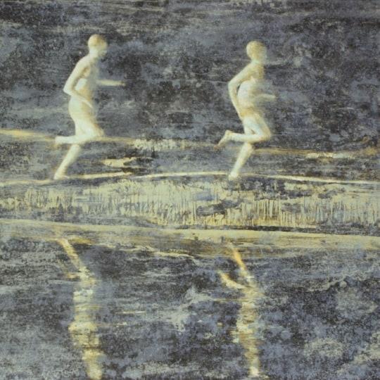 Løperne II by Frank Brunner   onArts