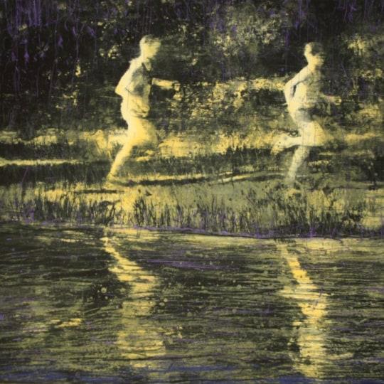 Løperne I by Frank Brunner   onArts