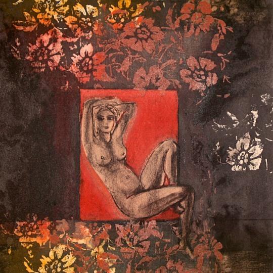 Rød melodi by Gabrielle Kielland | onArts