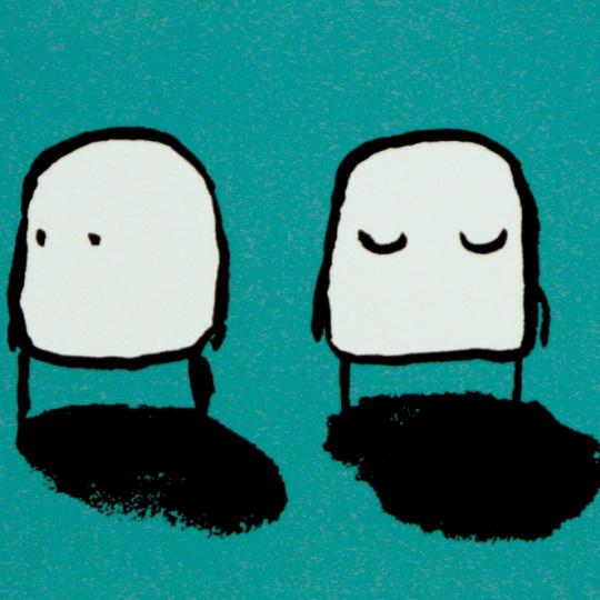 Hysj, det kommer noen! by Gunilla Holm Platou   onArts