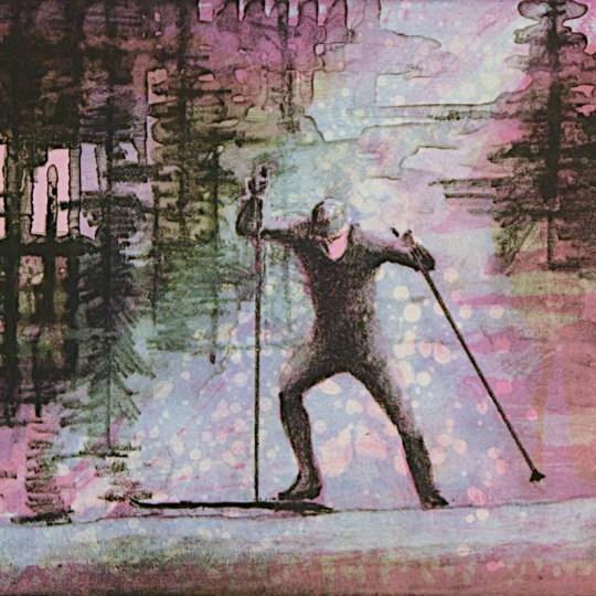 Skiløper by Lars Løken | onArts