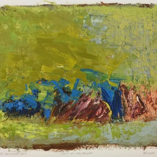 Idea of landscape by Monika Verde | onArts