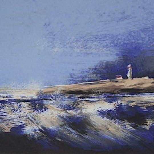 Blå kyst by Ole Ertzeid | onArts
