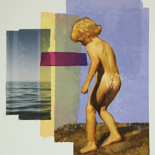 Impetus (Young boy in motion) Archipelago VII by Per Fronth | onArts