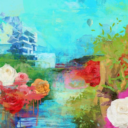 Funky Garden V by Rino Larsen | onArts