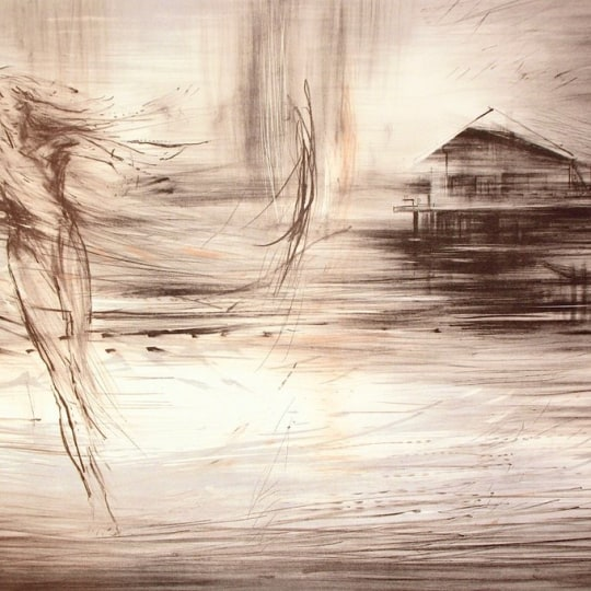 House by the sea by Runi Langum | onArts
