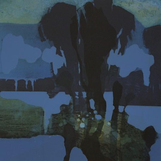 Blå time II by Stig Andresen | onArts