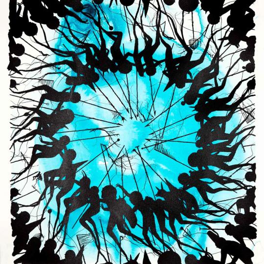 The Ritual' Blue Edition by David de la Mano | onArts