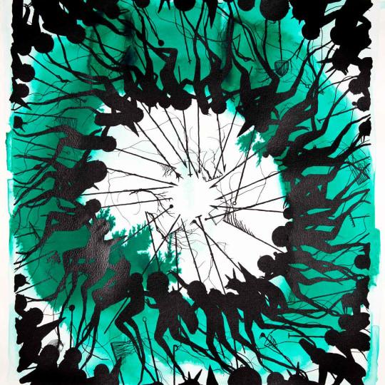 The Ritual' Green Edition by David de la Mano | onArts