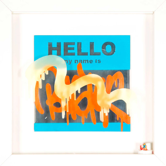 Hello My Name is...' by BUST | onArts