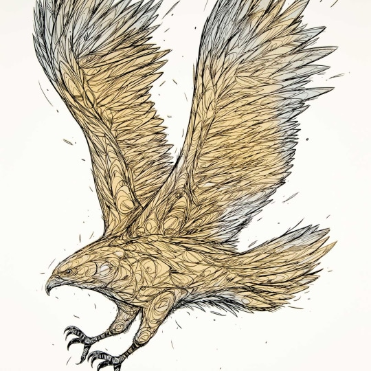 Golden Eagle' by DZIA | onArts