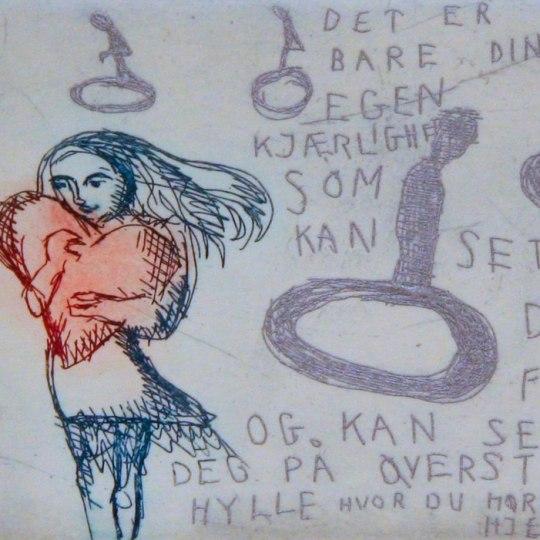 Det er bare din egen kjærlighet... by Bjørg Thorhallsdottir | onArts