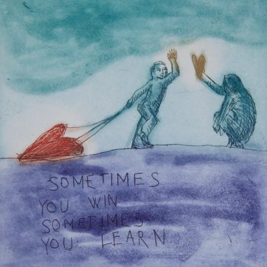 Sometimes you win... by Bjørg Thorhallsdottir | onArts