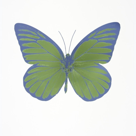 The Souls I - Cornflower Blue by Damien Hirst | onArts
