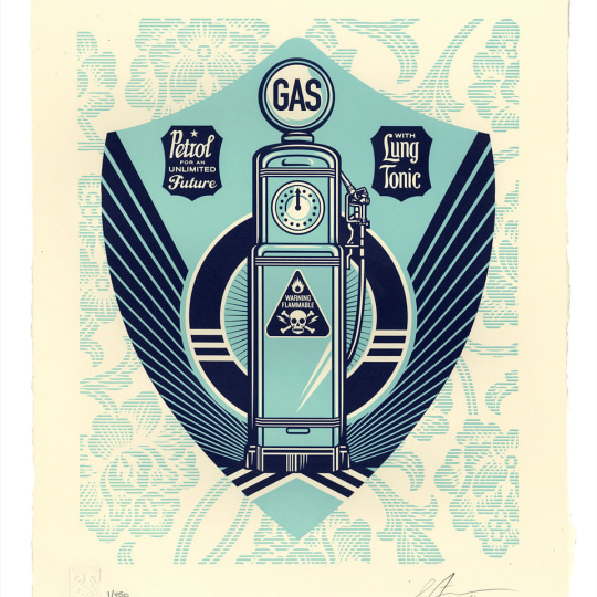 Endless Power by Obey Giant / Shepard Fairey | onArts
