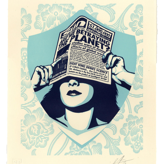 Global Warning by Obey Giant / Shepard Fairey | onArts