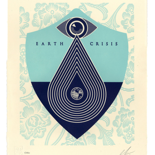 Earth Crisis by Obey Giant / Shepard Fairey | onArts
