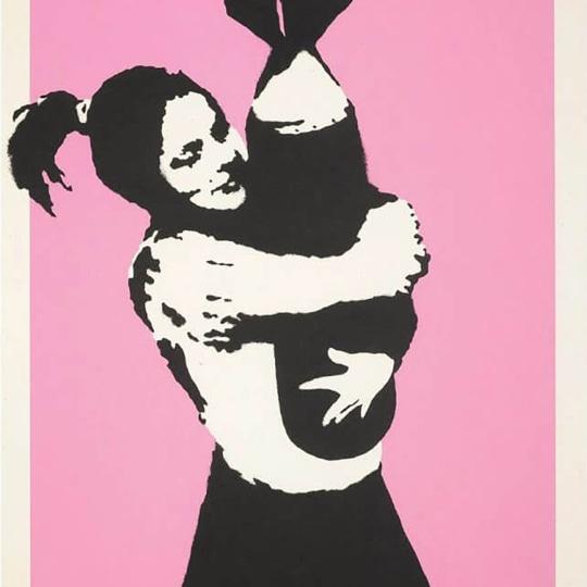 Bomb Love (Bomb Hugger) by Banksy | onArts