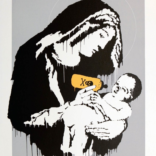 Toxic Mary by Banksy | onArts