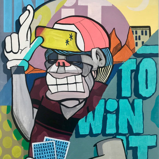 In it to win it by Atle Østrem | onArts
