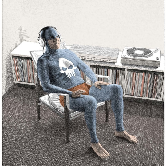 High Fidelity (Grey) - Litography by Andreas Englund | onArts