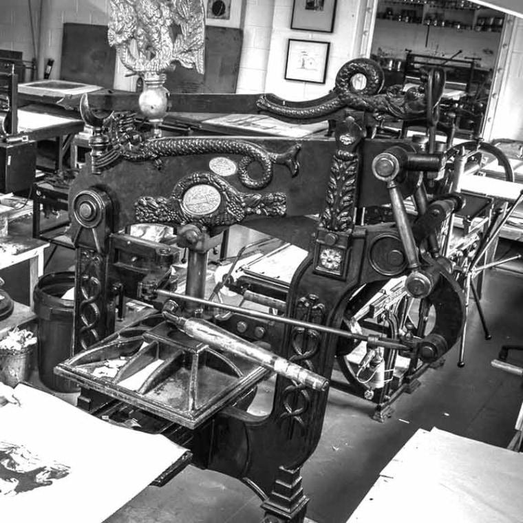 About Letterpress and Relief Technique - onArts Print Studio