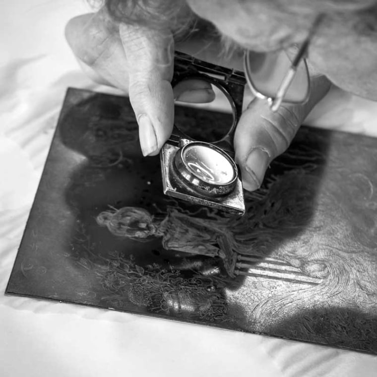 About the etching technique and process - onArts Print Studio