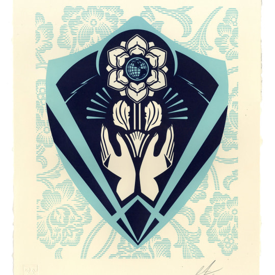 Respect and Justice by Obey Giant / Shepard Fairey   onArts