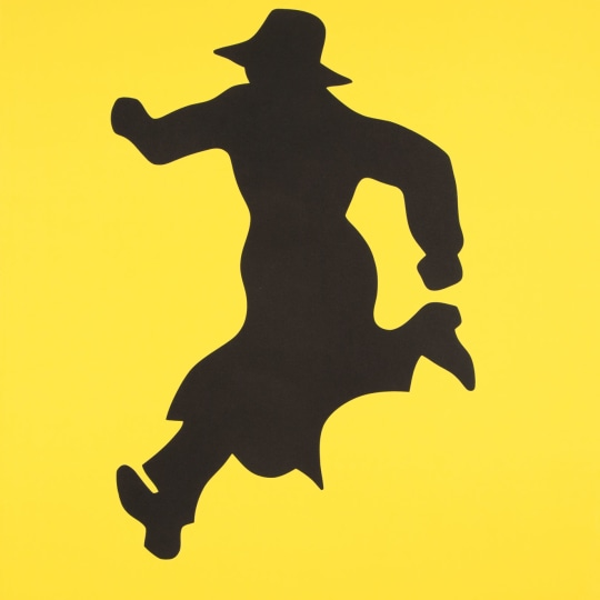 Mr.Walker Running (Yellow) by Jan Håfström | onArts